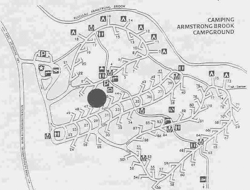 Map of Camp Site.